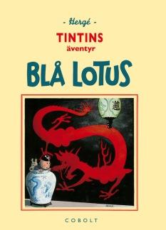 Blå lotus (retro)