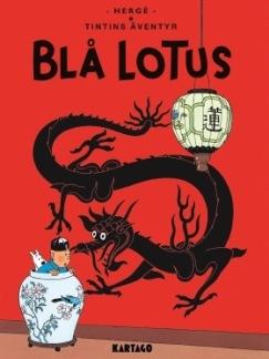 Tintins äventyr 05: Blå lotus