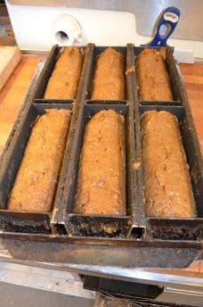 Danskt rågbröd på jäsning