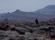 nomadkvinna i dimmiga Atlasberg