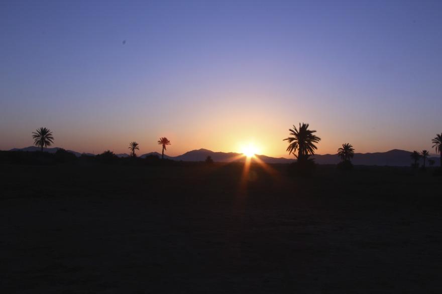 Passsa på att uppleva Marrakech omgivningar med marockoresan.se. En soluppgång  med efterföljande luftballongstur kanske?