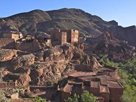 En berberby i Atlasbergen på ca 2000 möh