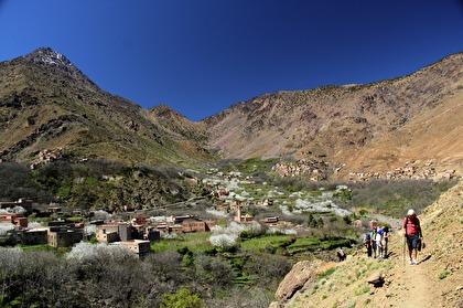 Marockoresan gör två härliga vandringar i Atlasbergen, från Imlil.