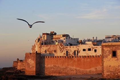 I Unescoskyddade Essaouira stannar Marockoresan i tre nätter.