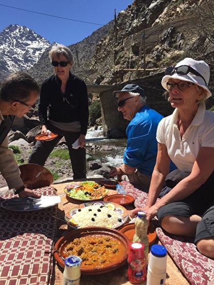 Vad slår en picknicklunch i Atlasbergen med Marockoresan?