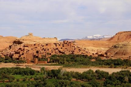 I Unescoskyddade staden Ait Ben Haddou har många internationella filmer spelats in, bl a Gladiator.