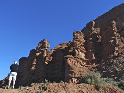 På Marockoresans 12 dagarsresa ser vi bla klippformationer i Dadesravinen
