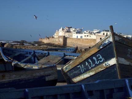 I charmiga fiskestaden Essaouira stannar vi tre nätter.