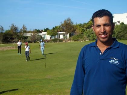 Strax utanför Essaouira ligger fina 18-hålsbanan Mogador Golf, design Gary Player med golfskolan Mogador Birdies.