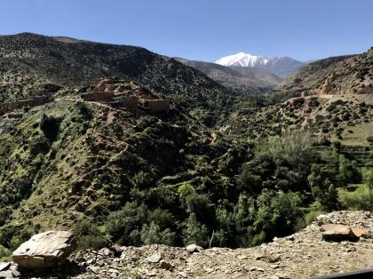 I Angel Valley, norr om Amizmiz, är Atlasbergen som vackrast!