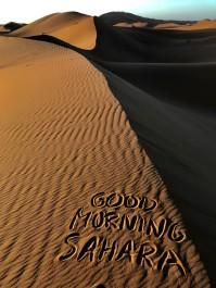 Att vakna i Sahara är magiskt!