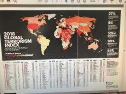 Marocko ligger nästan bäst till på Global Terrorism Index