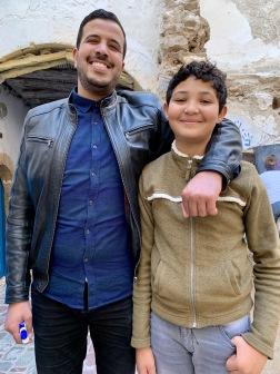 Tolvårige Amin är Mouchines mest flitiga elev. Han har gått på alla klasser i tre år, och pratar nu flytande engelska!!