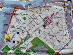 Mitt i kartan syns markeringen för där English Street School har sina lektioner.