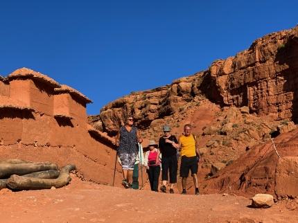 I Boutharar, i Atlasbergen är turister fortfarande ovanliga.