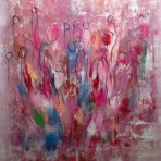 United colors, 100x80 cm, akryl, 5900 kr