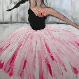 All I wanna do is dance, 60x80 cm, 7900 kr