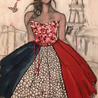 In Paris with love, 116x89 cm, 12000 kr