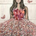 La vie en rose, 80x100 cm