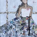 Libre comme un papillon, 120x100 cm, 15 900 kr