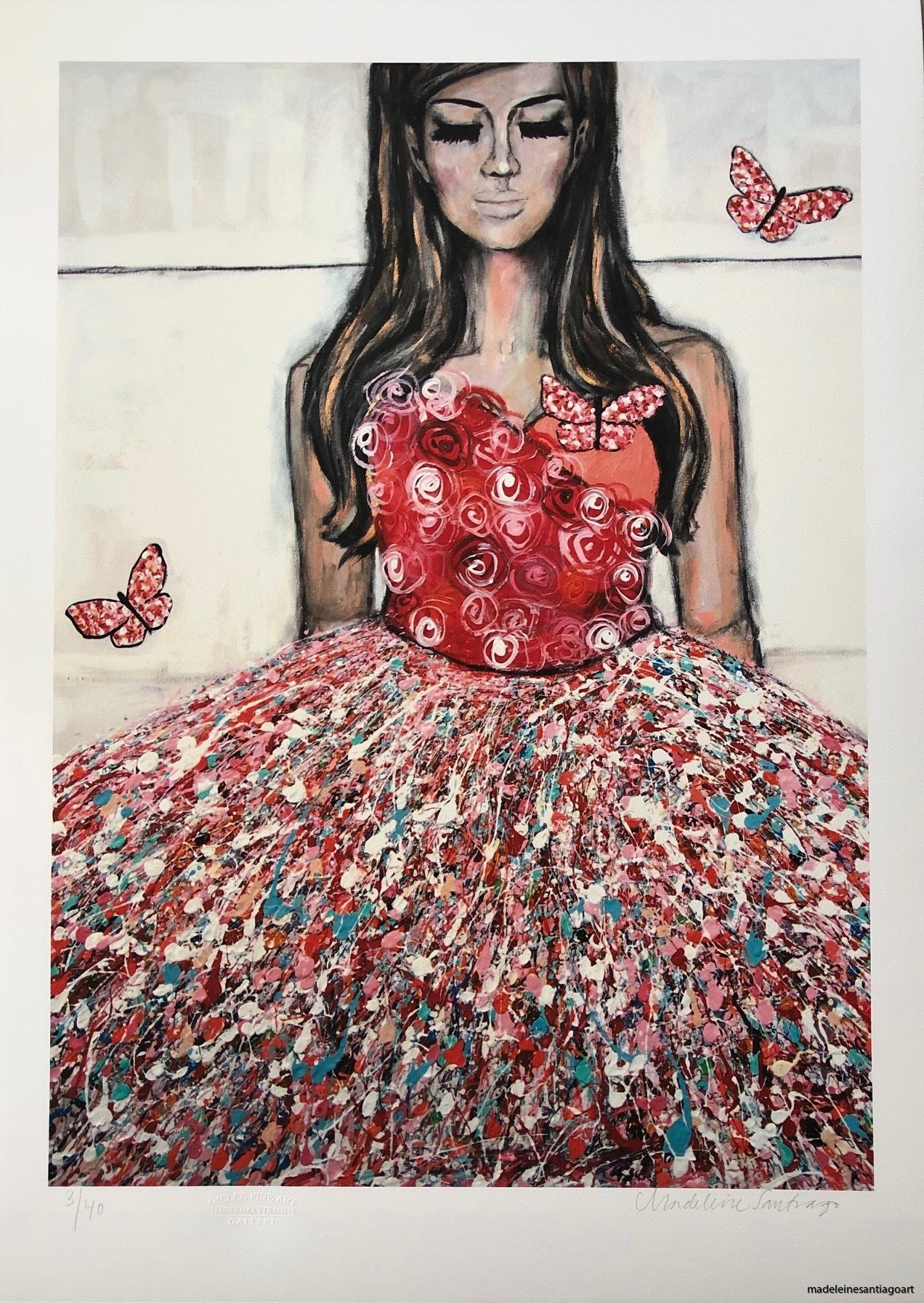 La Vie Un Rose, 50 x 70 cm, 2200 kr