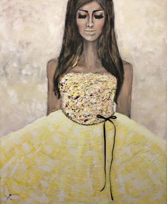Soul full of sunshine 80 x 100 cm, 11 900 kr (denna säljs via nordicartwall.com)
