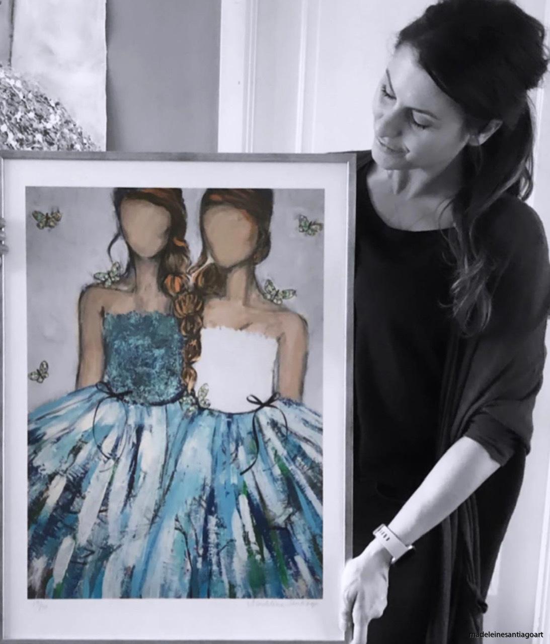 Mothers 50 x 70 cm