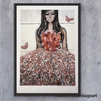 La Vie Un Rose 50 x 70 cm