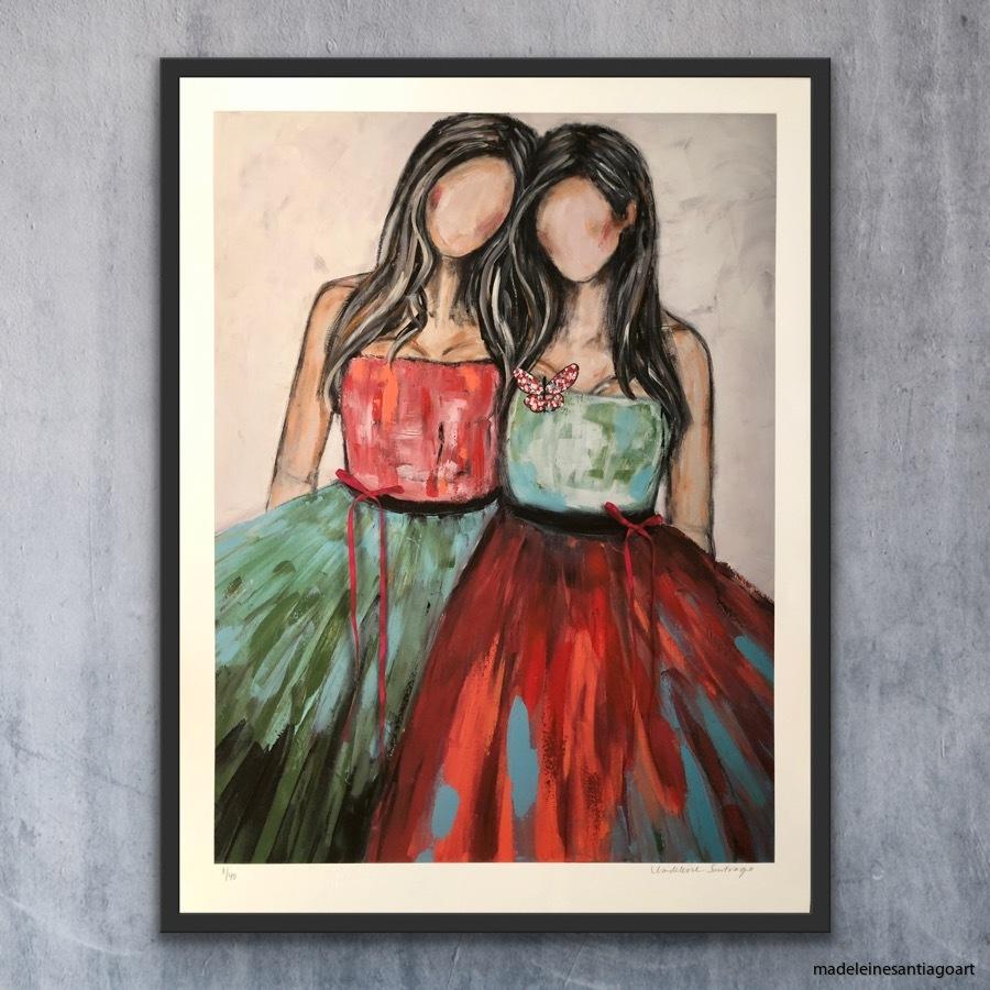 Together forever 60 x 80 cm