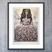 "Fine art print ""Starkare"""