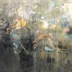 I det enkla bor det vackra, akryl, 120 x 100 cm