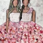 Vi har alltid varandra, akryl 100 x 120 cm 16 900 kr