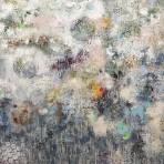 Bubbles, akryl 80 x 100 cm