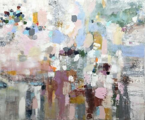 Sommarlust akryl, 120 x 100 cm 17 000 kr