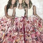 Angels, akryl 100 x 120 cm 16 900 kr