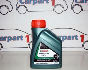 Bromsvätska DOT 4 Castrol-  0,5 liter
