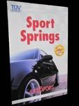 Sportfjädrar/Sänksats Volvo 440, 460, 480