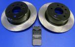 Bromsskivor med belägg SAAB 900 97-98/9-3 I/9-5 -98 BAK (286 mm) - OSLAGBART pris !
