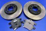 Bromsskivor med belägg SAAB 900 97-98/9-3 I/9-5 98-2010 FRAM (288 mm) - OSLAGBART pris !