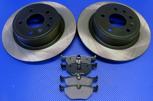Bromsskivor med belägg SAAB 9-5 1999-2010 BAK (286mm) - OSLAGBART pris !