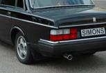 Sportavgassystem Volvo 240/242/244/245 Cat