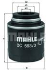 Oljefilter Mahle 1.2TSi/1.2TFSi/1.4TSi/1.4TFSi
