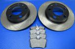 Bromsskivor med belägg bak (230 mm) SKODA Fabia I+II+III, Octavia, Praktik, Rapid, Roomster - OSLAGBART pris!