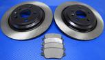 Bromsskivor med belägg bak (302 mm solid) VOLVO S60 II, S80 II, V60, V70 III, XC70 III - OSLAGBART pris!