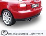 Sportavgassystem AUDI S3 Quattro 1.8T,  99-03