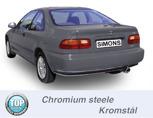 Sportavgassystem HONDA Civic V+VI Sedan/Coupé