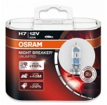 H7 lampa OSRAM 12V 55W NIGHT BREAKER 2-Pack