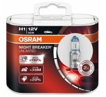 H1 lampa OSRAM - NIGHT BREAKER  2-pack
