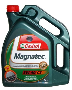Motorolja Castrol Magnatec 5W-40 C3/ 5 liter