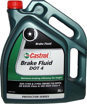 Bromsvätska DOT 4 Castrol - 5 Liter